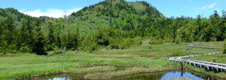 四十八池湿原と裏志賀山